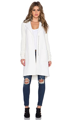 Bailey 44 Chelsea Faux Fur Coat in Cream