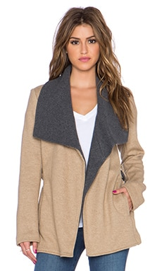 Bailey 44 Jones Coat in Camel & Anthracita