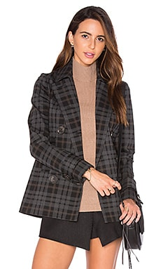 Plaid Coven Jacket in Plaid
