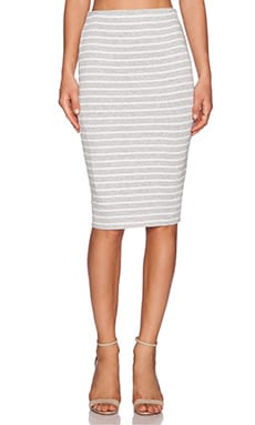 Bailey 44 Singles Skirt in Heather