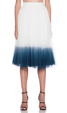 Bailey 44 Sweet Pea Skirt in Chalk & Navy