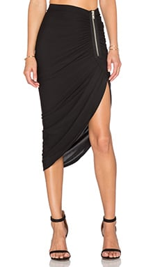 Bailey 44 Harlequin Skirt in Black