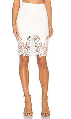 Bailey 44 Primrose Skirt in Chalk