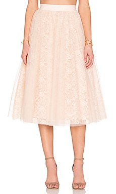 Shrubbery Skirt in Blush