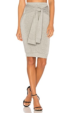 Beam Seas Skirt en Gris Chiné