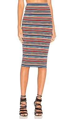 Striped St Martin Skirt in Island Stripe