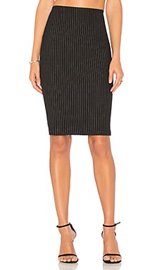 Striped Resplendent Pencil Skirt