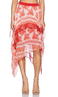 Bailey 44 You're So Vain Skirt in Pepper Red