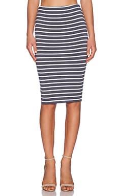 Bailey 44 Singles Skirt in Ebony
