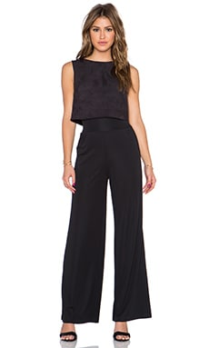 Bailey 44 Jane Jumpsuit in Black & Black