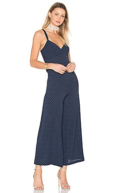 Martingale Jumpsuit in Navy Ground