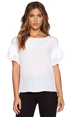 Bailey 44 Tiebreaker Top in White