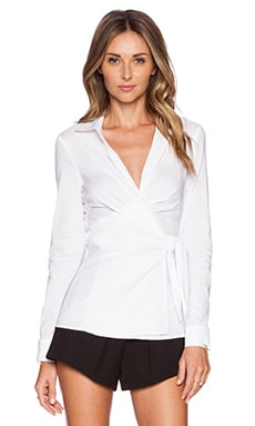 Bailey 44 Match Top in White