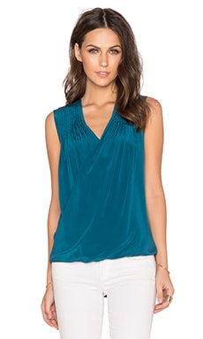 Fawcett Top in Teal