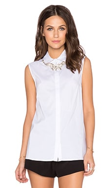 Bailey 44 Tiegs Top in White