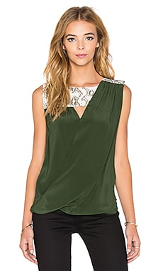 Bailey 44 Jeanette Top in Moss