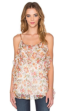 Talk To Me Top in Floral
