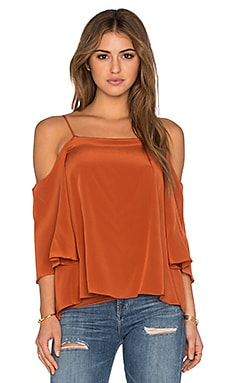 Solid Tusk Top in Terracotta
