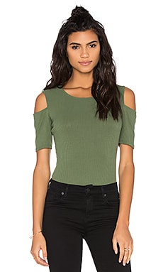 Pafan Top in Olive