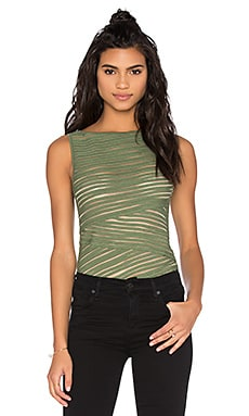 Pangea Top in Olive
