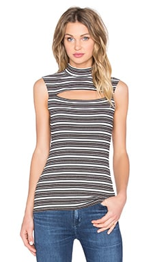 Fes Top in Multi Stripe