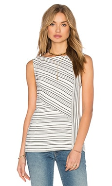 Bailey 44 Great Rift Valley Top in Woven Stripe