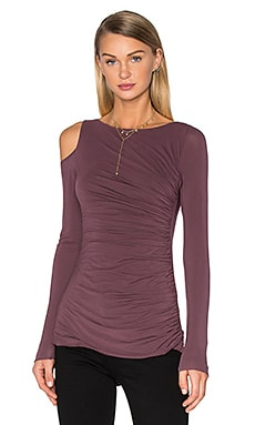 Savy Top in Plum