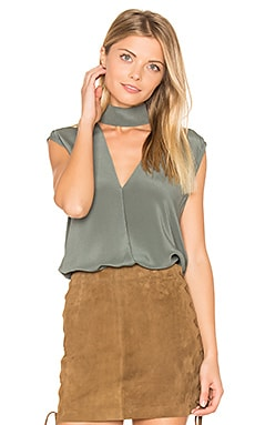 Rebel Girl Top in Duck Green