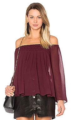Helena Top in Berry
