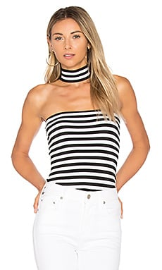Stripe Shoot The Tube Top