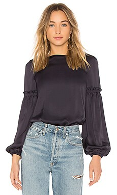 Blood Bond Exaggerated Sleeve Top