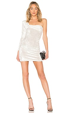 One Sleeve Contour Mini Dress Baja East $167