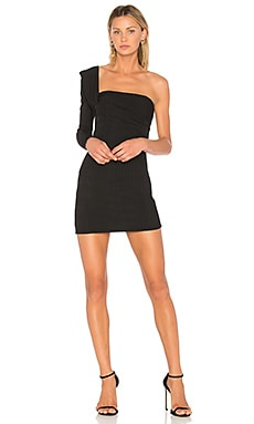 One Shoulder Mini Dress Baja East $155