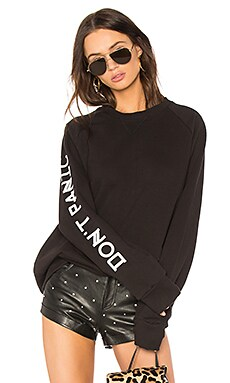 Don't Panic Sweatshirt Dress
