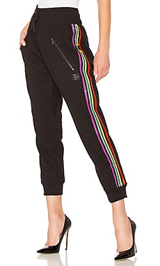 Be Stripe Moto Sweatpant Baja East $106
