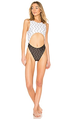 Cut Out One Piece Baja East $63