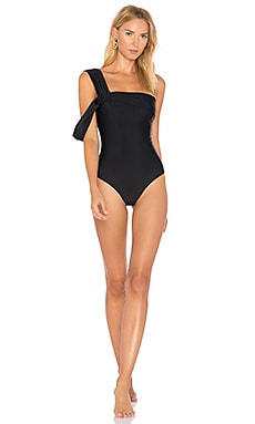Drape Shoulder One Piece Baja East $202