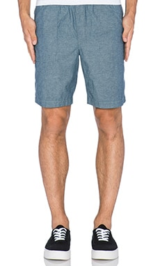 baldwin The Venice Short in Indigo Chambray