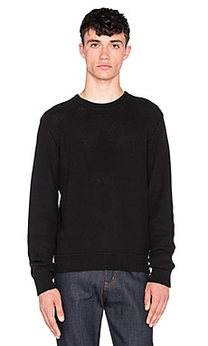 baldwin The Alex Crewneck in Black