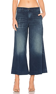 Harper Wide Leg in Medium Indigo