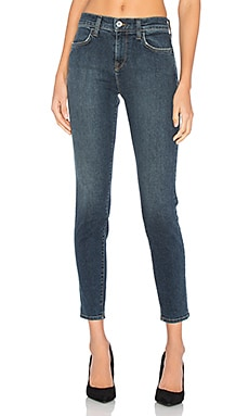 JEAN SKINNY CROPPED TAILLE HAUTE KARLIE