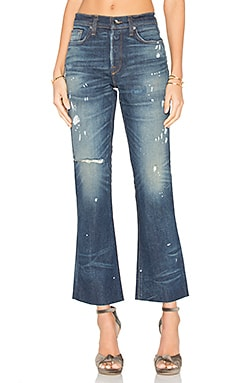 JEAN CROPPED FLARE KICK MAXWELL