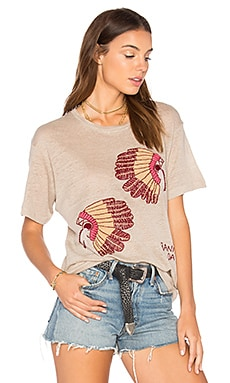 Double Head Dress Tee in Ash