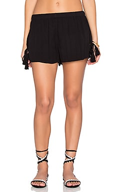 Band of Gypsies Tassel Short in Black