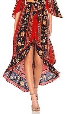 Bohemian Ruffle Skirt