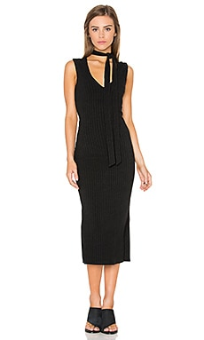 Bardot Sonia Rib Dress in Black