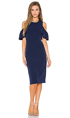 Bardot Jessie Dress in Blue Ink