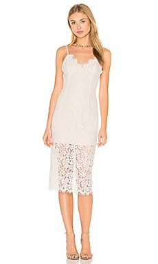 Sienna Lace Dress in Beige