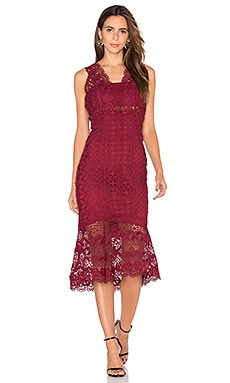 Odyssey Dress in Wine