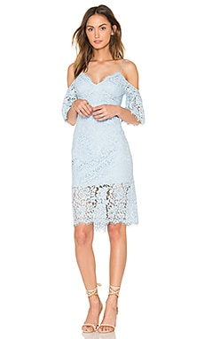 Karlie Lace Dress in Sky Blue